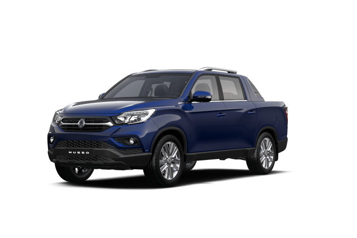 SsangYong Musso Atlantic Blue