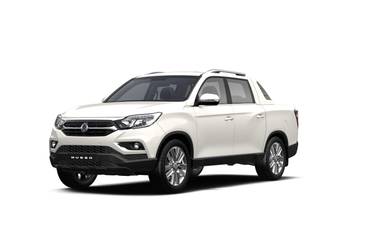 SsangYong Musso Grand White