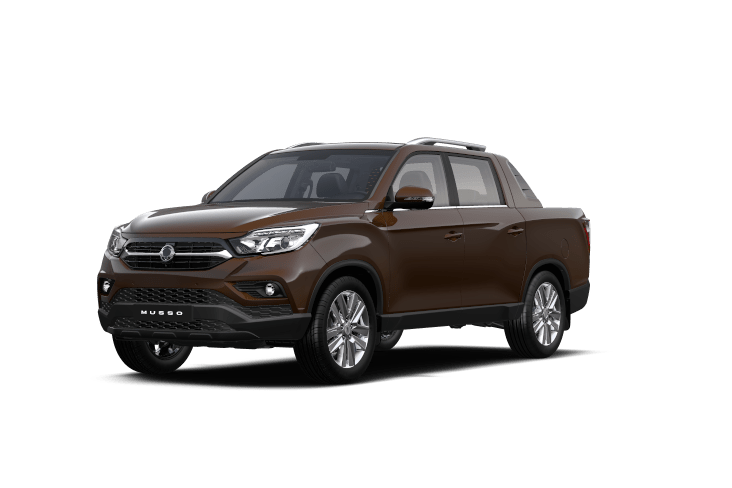 SsangYong Musso Maroon Brown