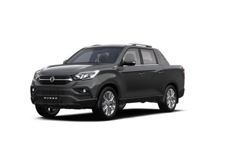 SsangYong Musso Marble Gray