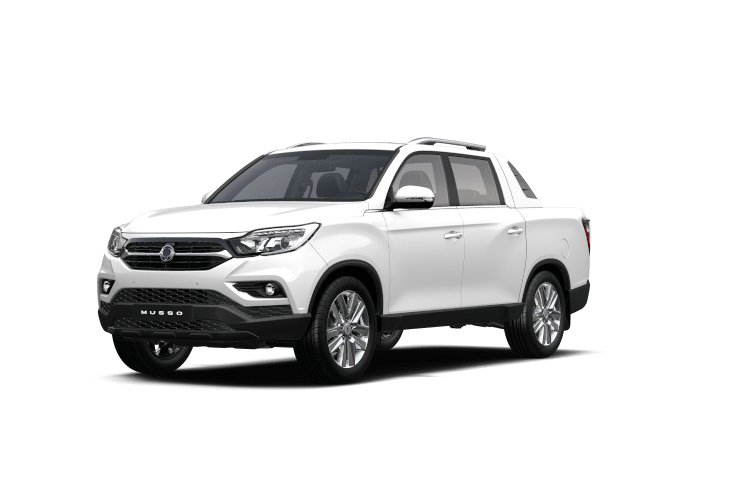 SsangYong Musso White Pearl