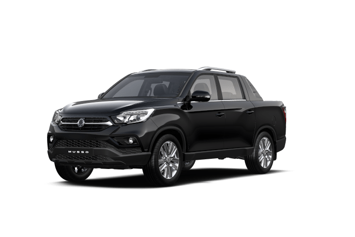 SsangYong Musso Space Black