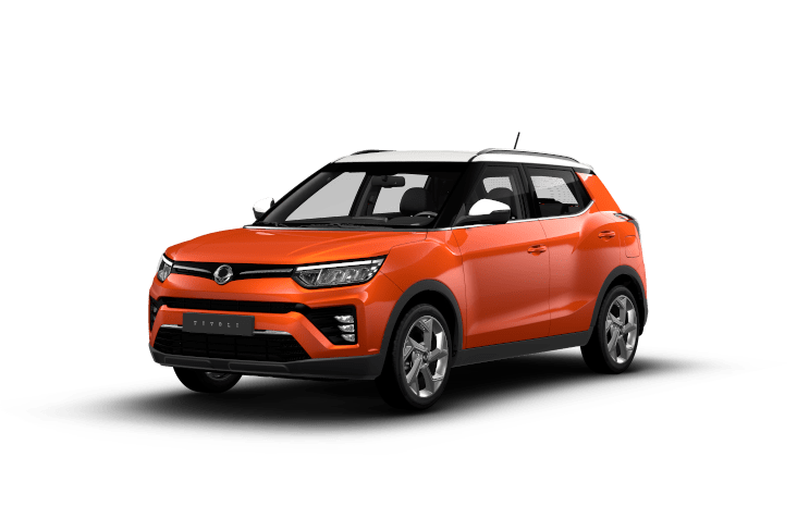 SsangYong Tivoli Orange POP Bi-ton
